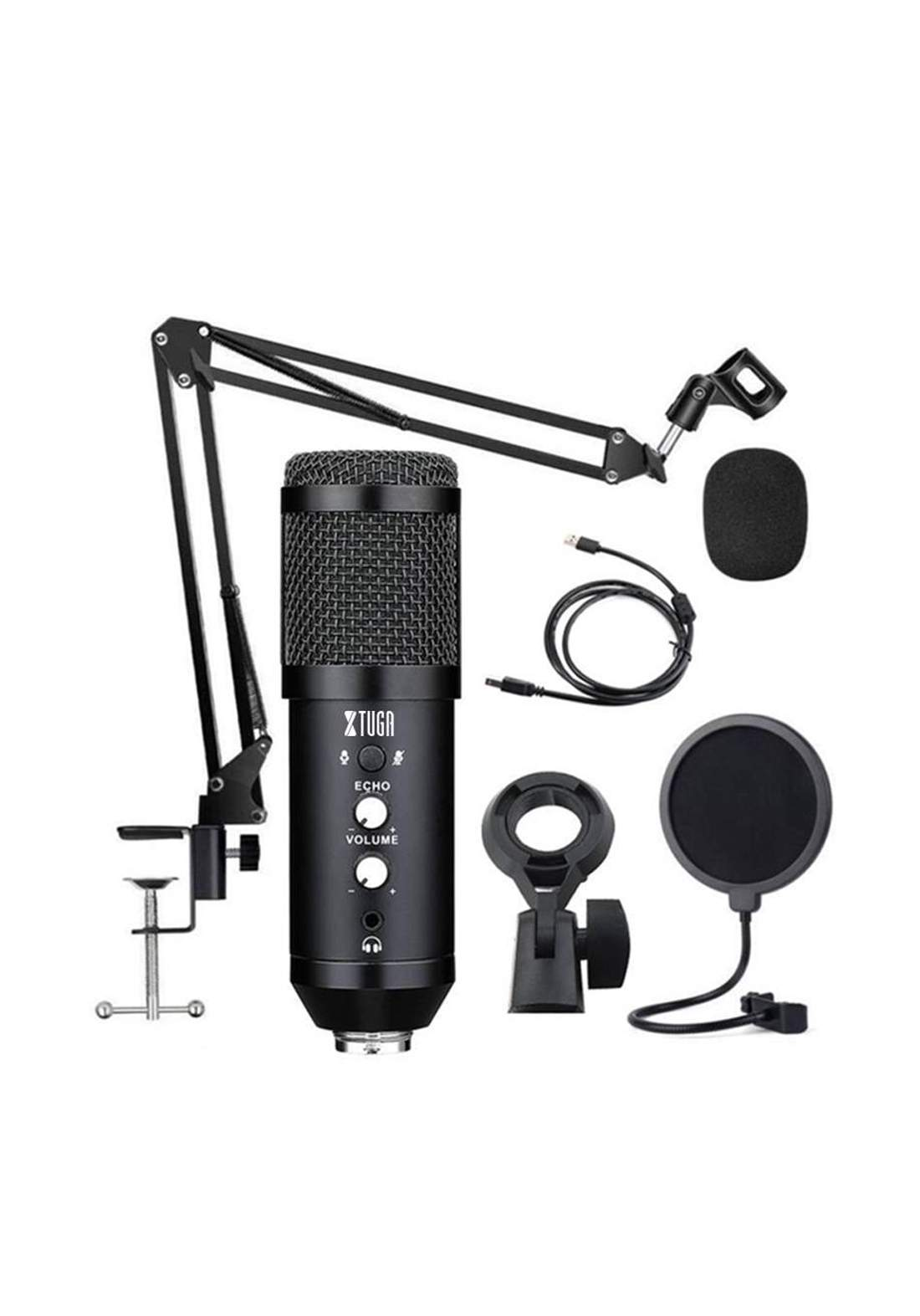 Xtuga BM930 Usb Condenser Microphone  - Black مايكروفون