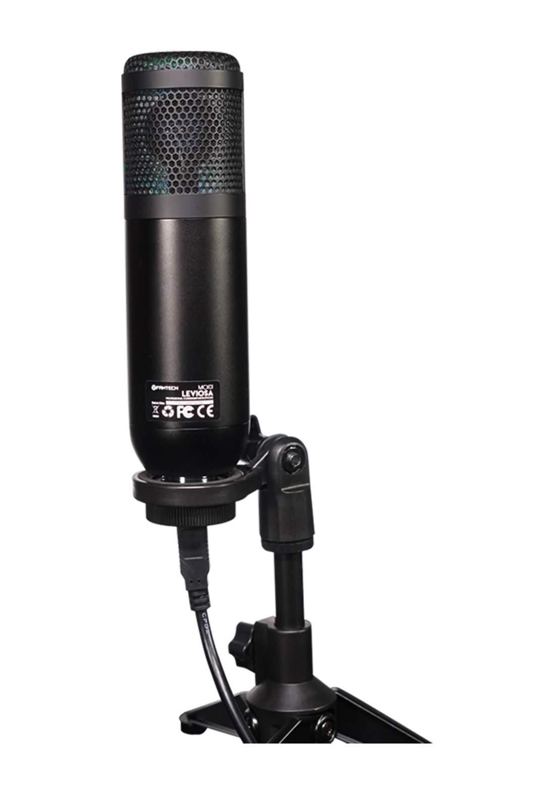 Fantech MCX01 Leviosa Condenser Microphone - Black مايكروفون