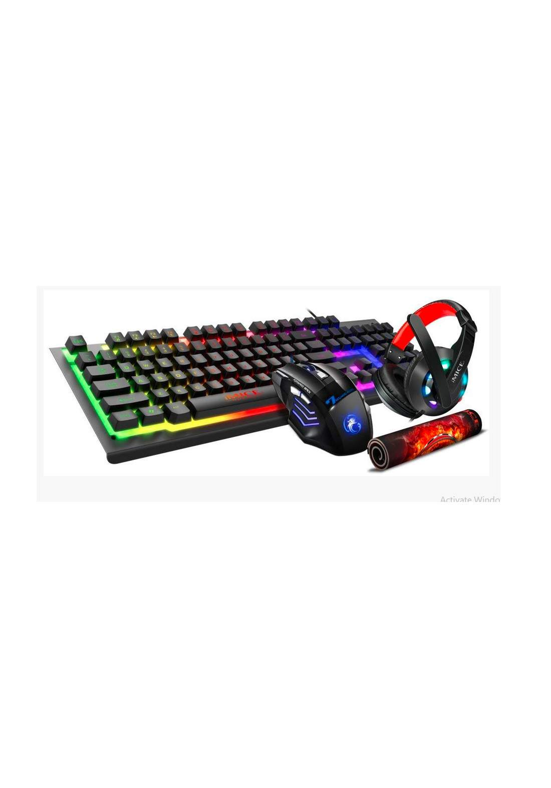 iMICE GK-470 Compo 4 in 1 Gaming Set