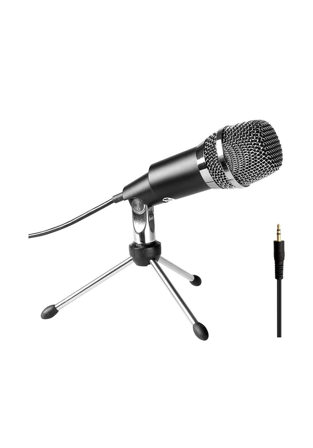 Fifine K667 Condenser Microphone for PC Computer - Black مايكروفون
