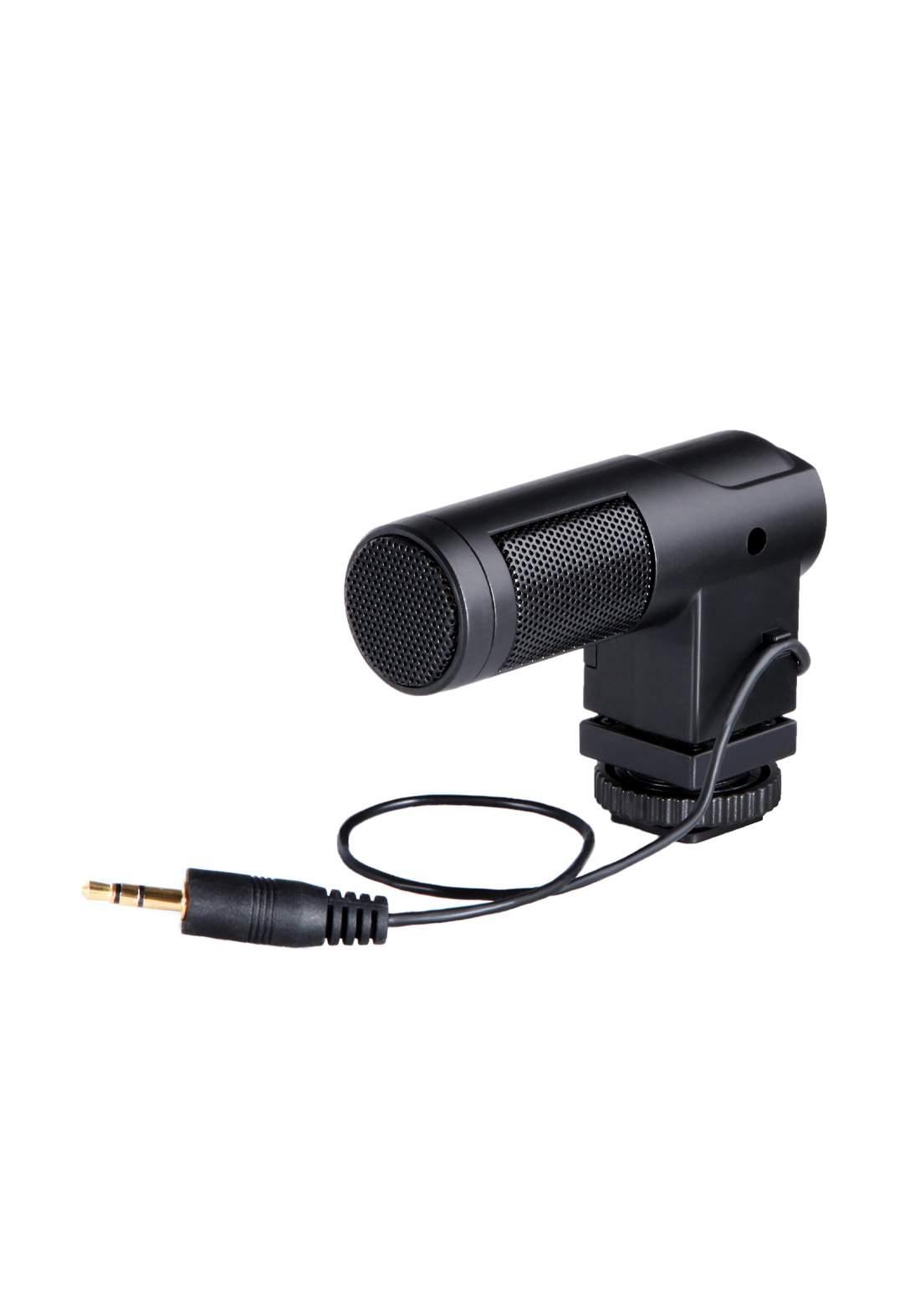 Boya BY-V01 Condenser Microphone - Black مايكروفون