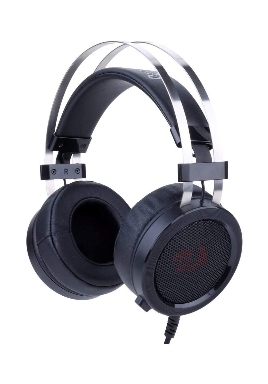 Redragon Gaming Headset Wired Audio Aux 3.5mm Scylla - Black سماعة سلكية