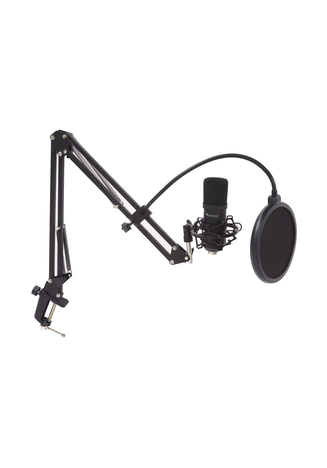 Fifine T730 USB Condenser Microphone - Black مايكروفون