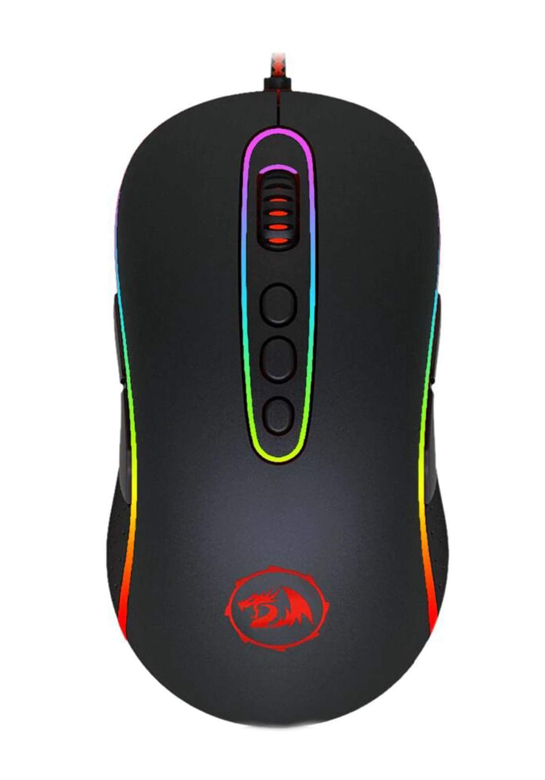 Redragon M702-2 RGB Gaming Mouse - Black ماوس