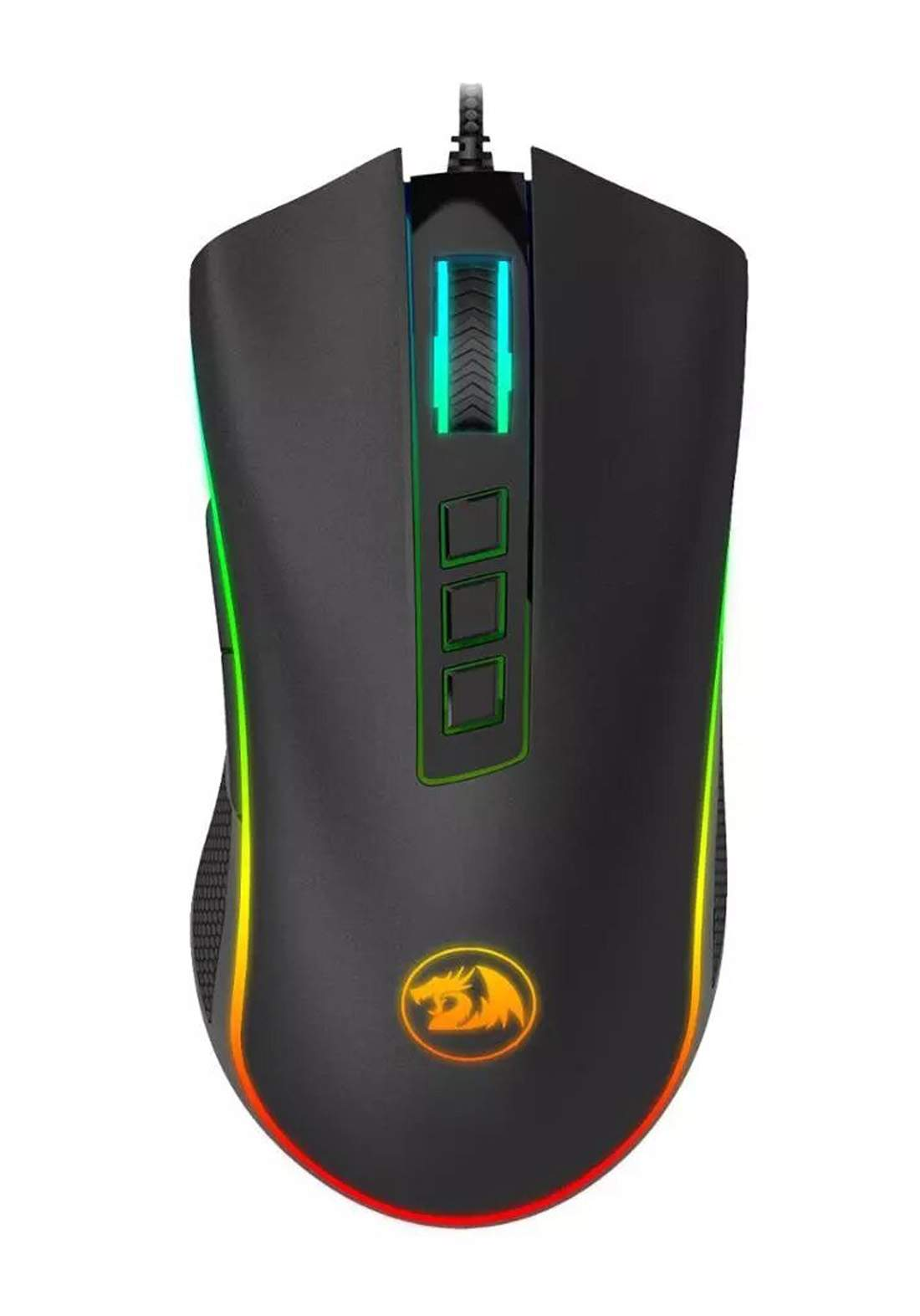Redragon M711 COBRA Wired Gaming Mouse - Black ماوس