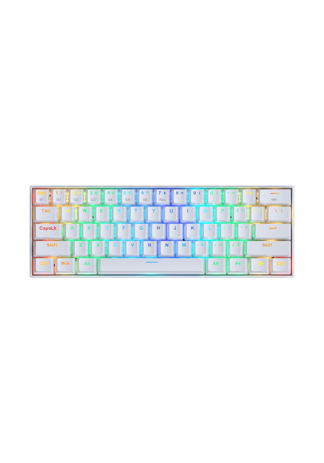 Redragon K530 Draconic RGB Keyboard -White لوحة مفاتيح