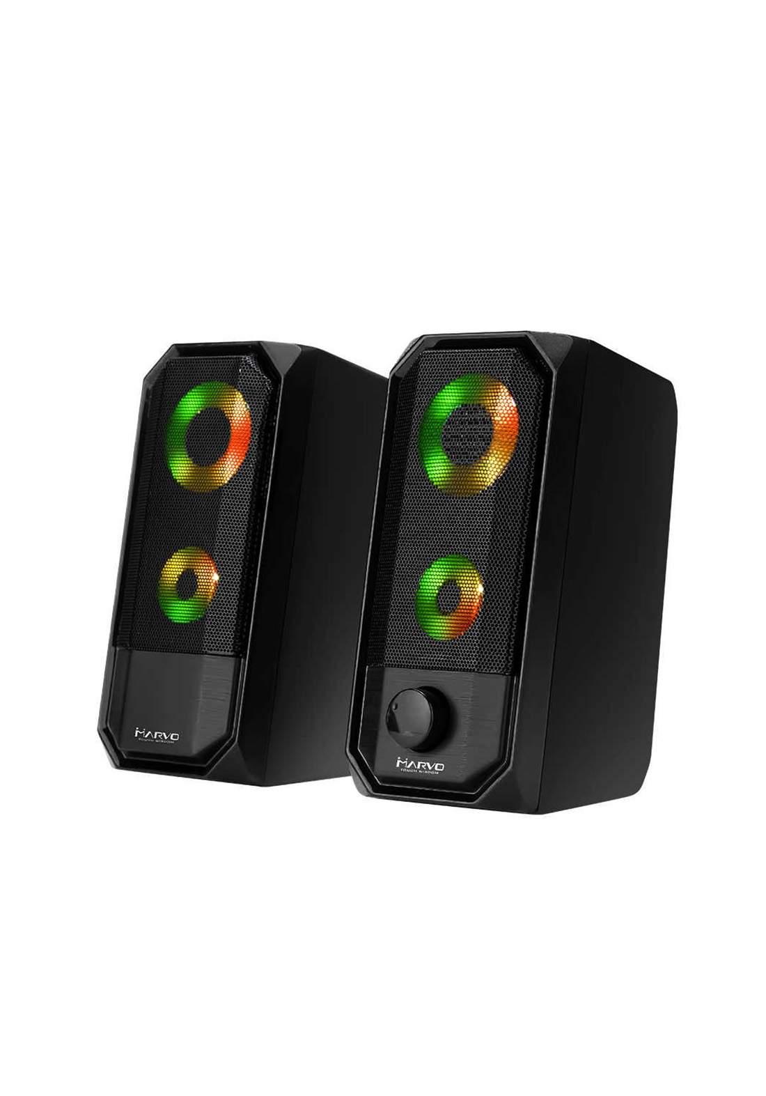 Marvo Scorpion SG-265 RGB LED Stereo Gaming Speakers