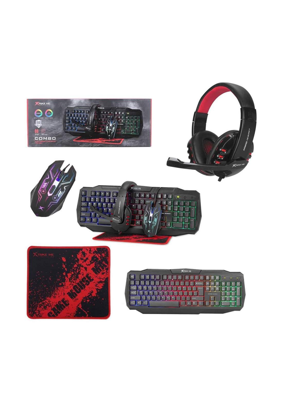 Xtrike ME CM-406 Gaming Combo 4 In 1