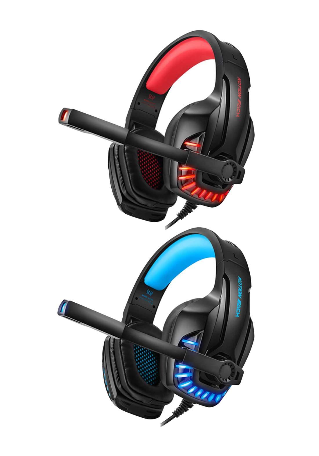 Kotion Each G9100 AUX RGB Gaming Headphone سماعة