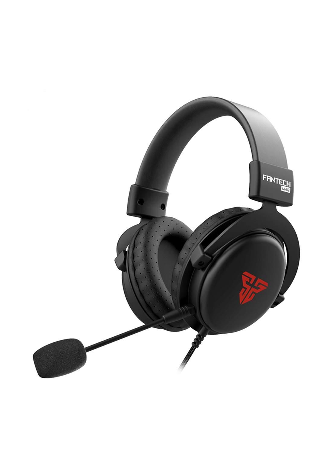 Fantech MH82 ECHO Gaming Headphones - Black سماعة