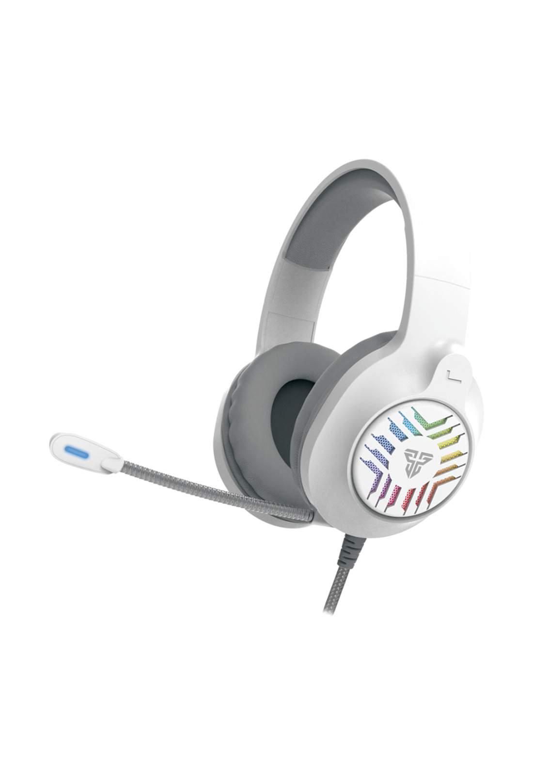 Fantech MH87 BLITZ Gaming Headphones - White سماعة