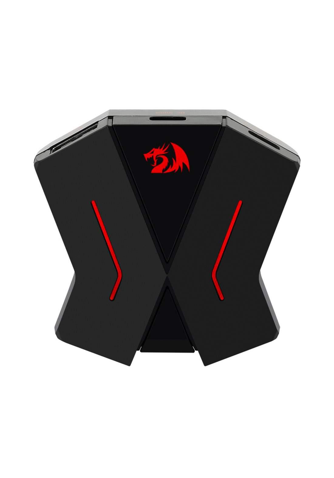 Redragon GA-200 Keyboard&Mouse Converter - Black تحويلة