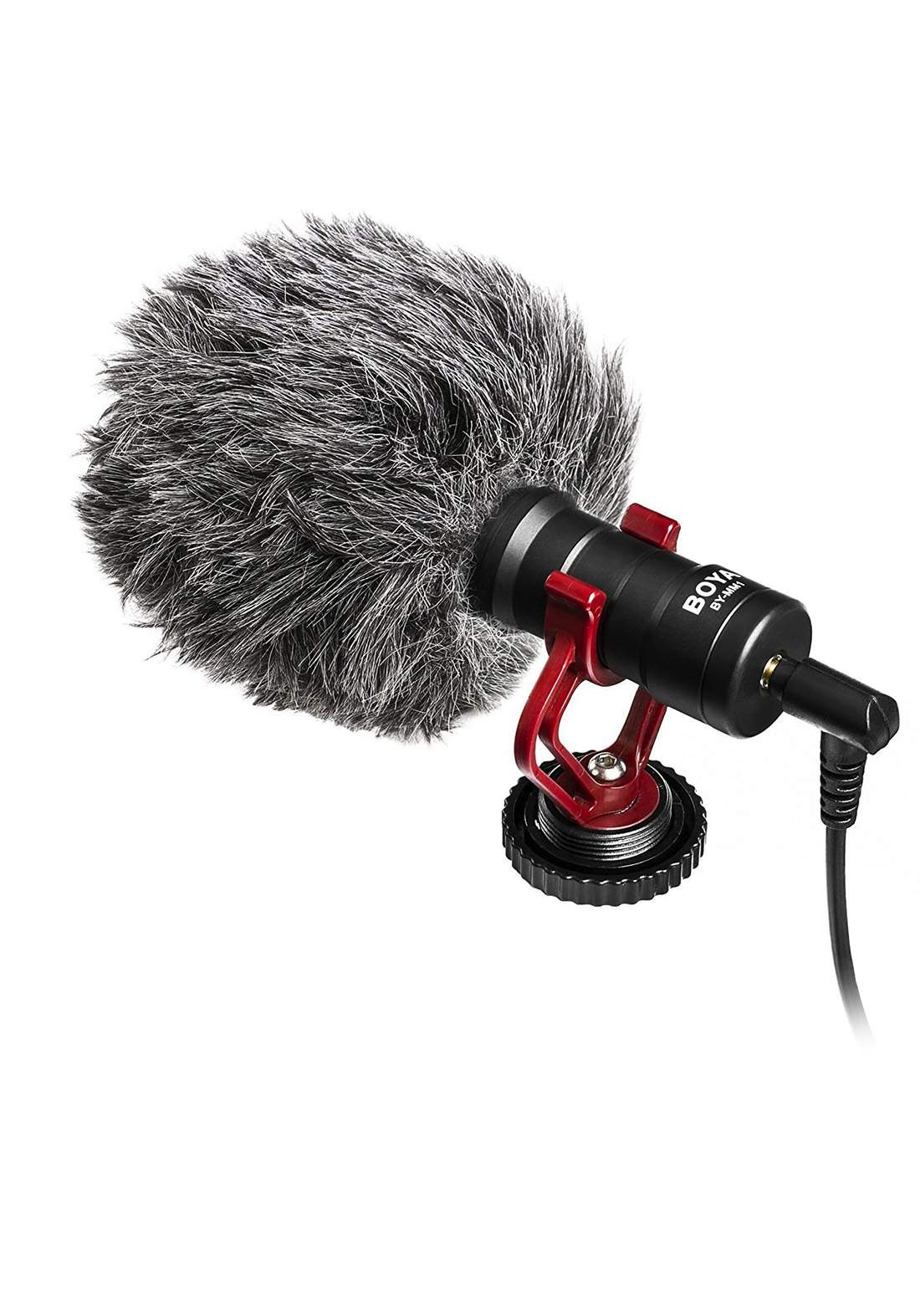 BOYA BY-MM1 Cardioid Microphone - Black مايكرفون