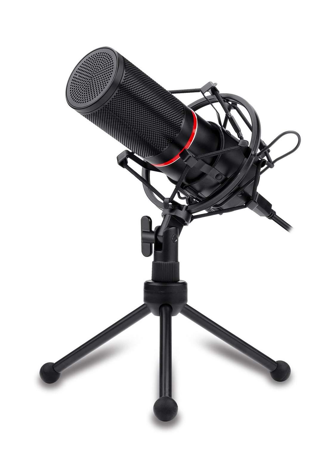 Redragon GM300 Gaming Stream Microphone Kit - Black مايكرفون