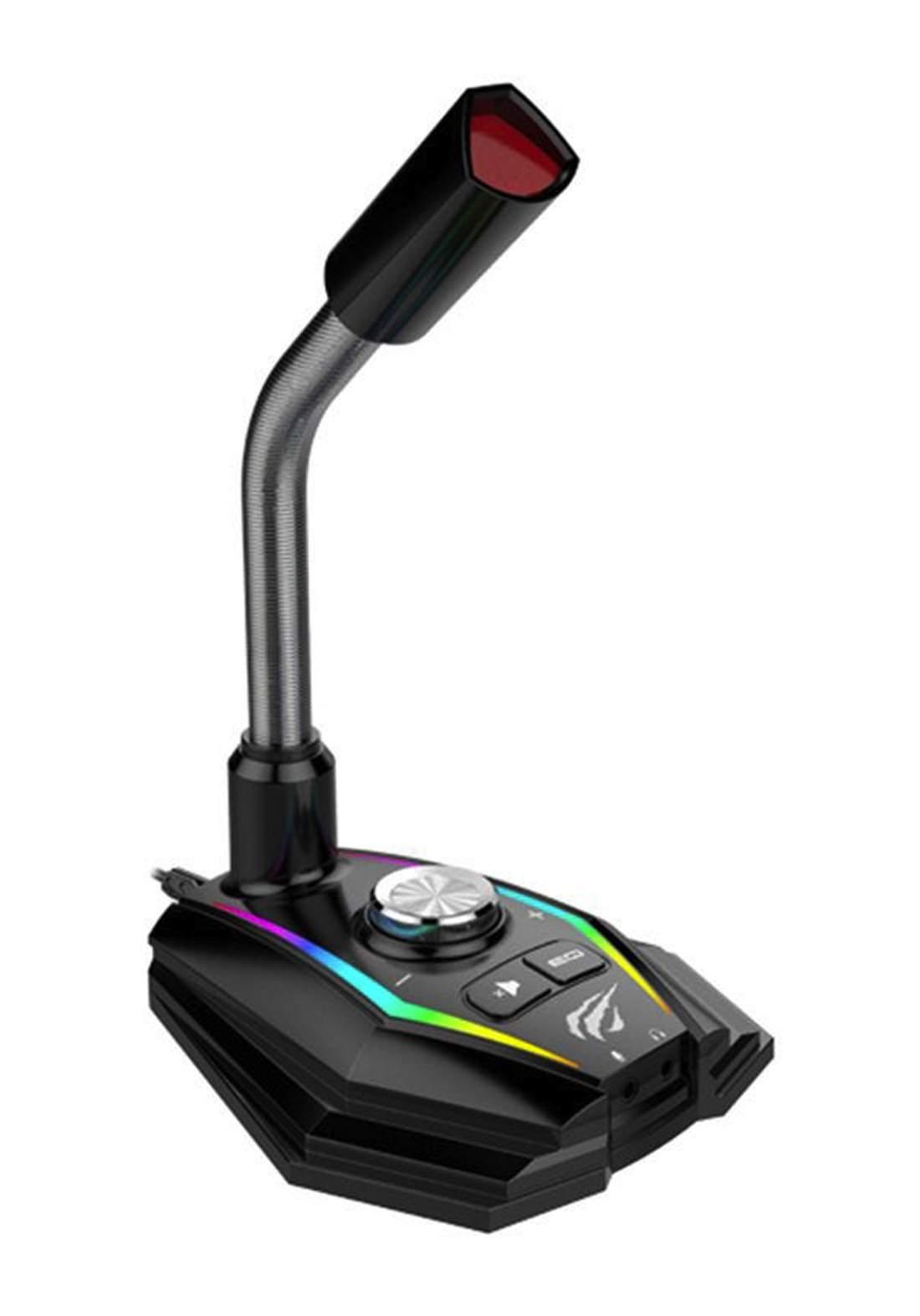 Havit GK56 Gaming Microphone -  Black مايكروفون