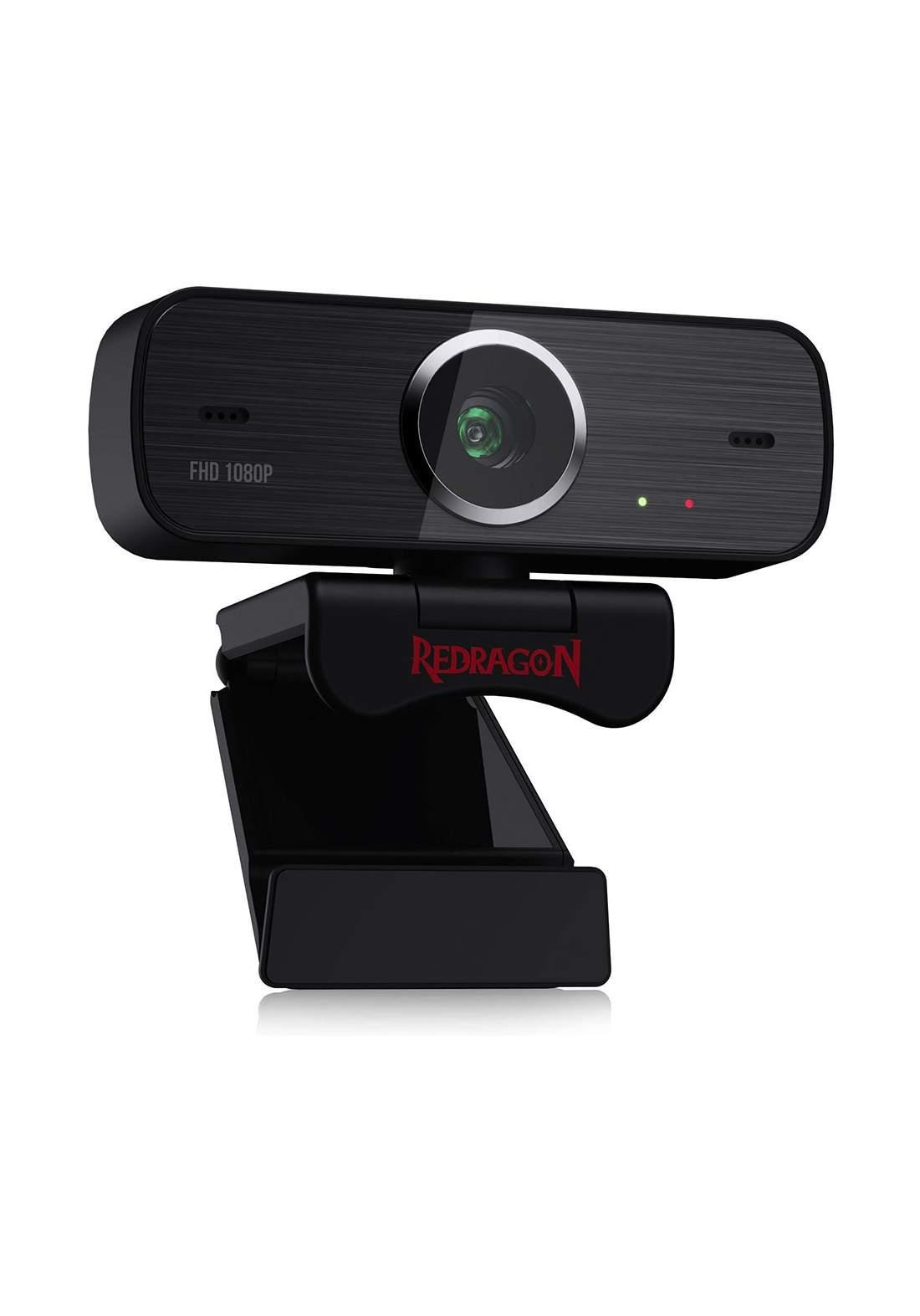 Redragon GW800 Hitman 1080P 30fps Max stream webcam - Black  كاميرا