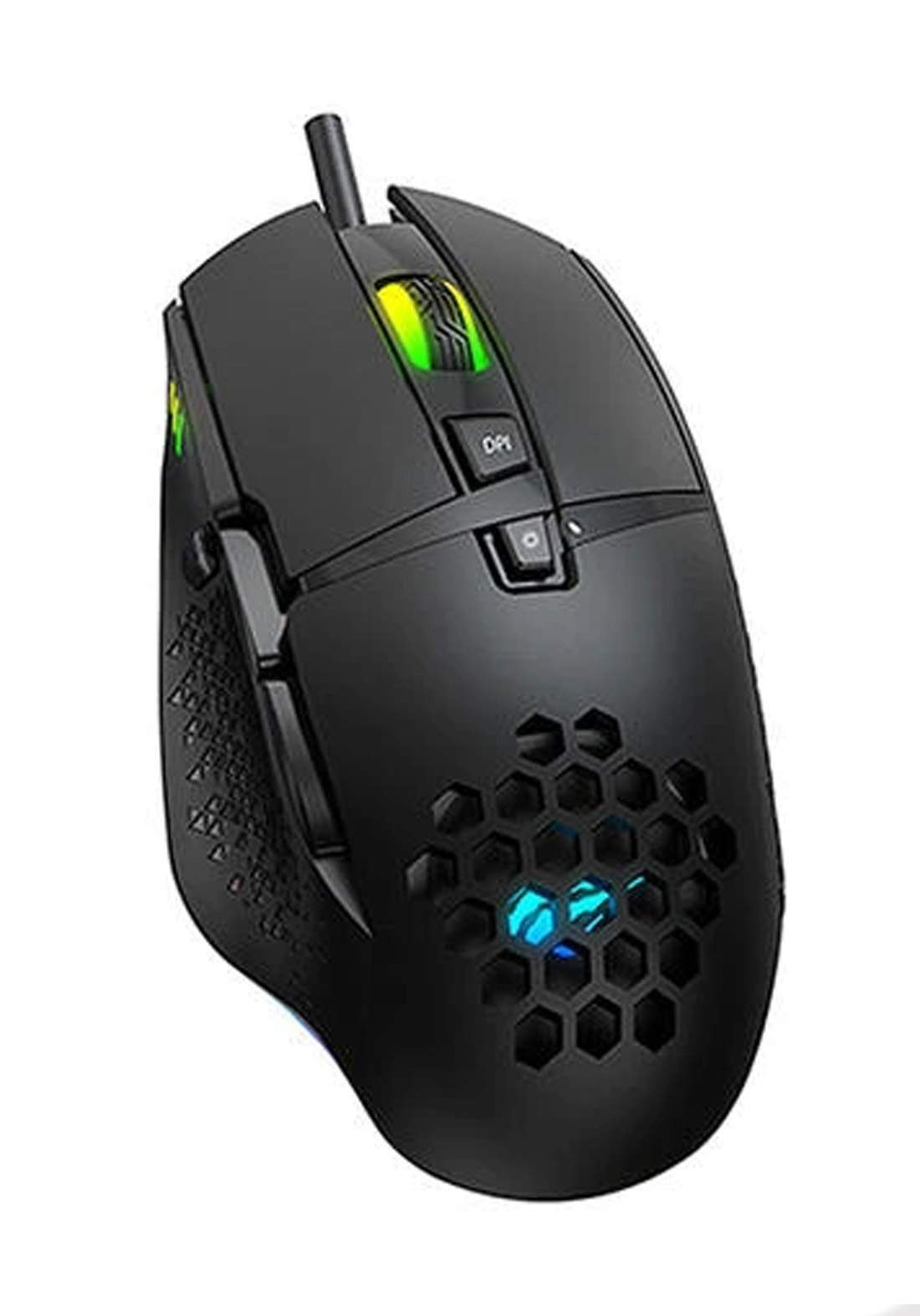 Havit MS1022 RGB Backlit 3200 DPI Honeycomb 7 Buttons Gaming Mouse