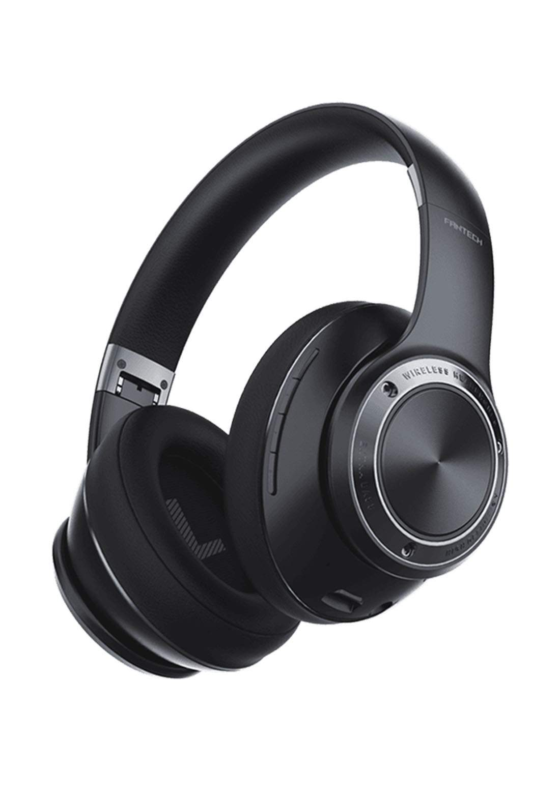 Fantech WH01 Wireless Headphones - Black سماعة