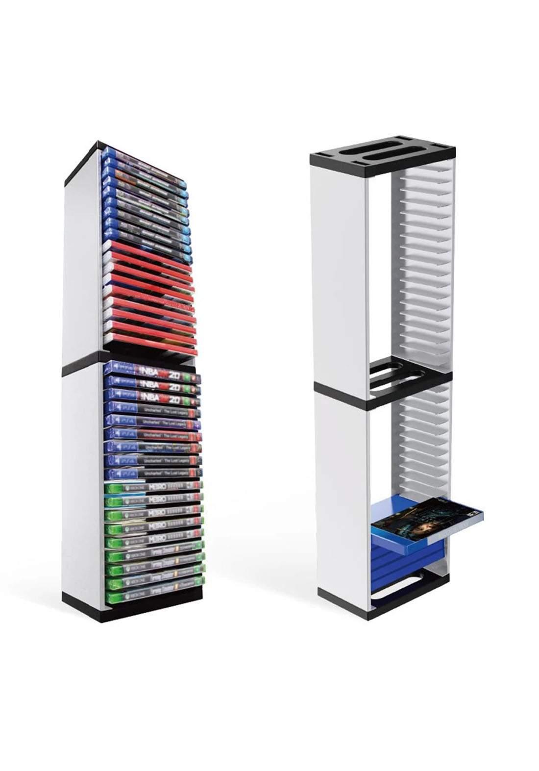 Dobe TP5-0519 Storage Stand For PlayStation5 - White حامل تخزين