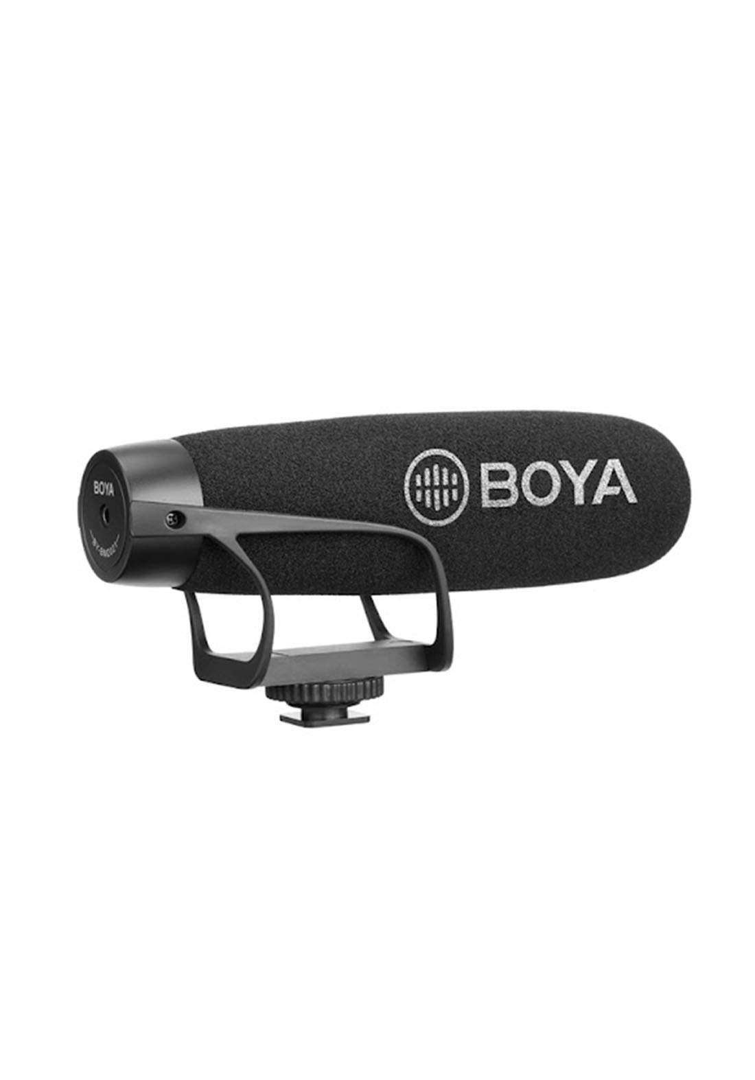 Boya BY-BM2021 Super-Cardioid Shotgun Microphone - Black مايكروفون