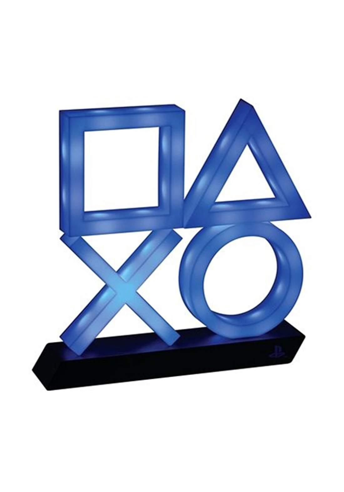 PlayStation Icons Light XL PS5 USB - Blue