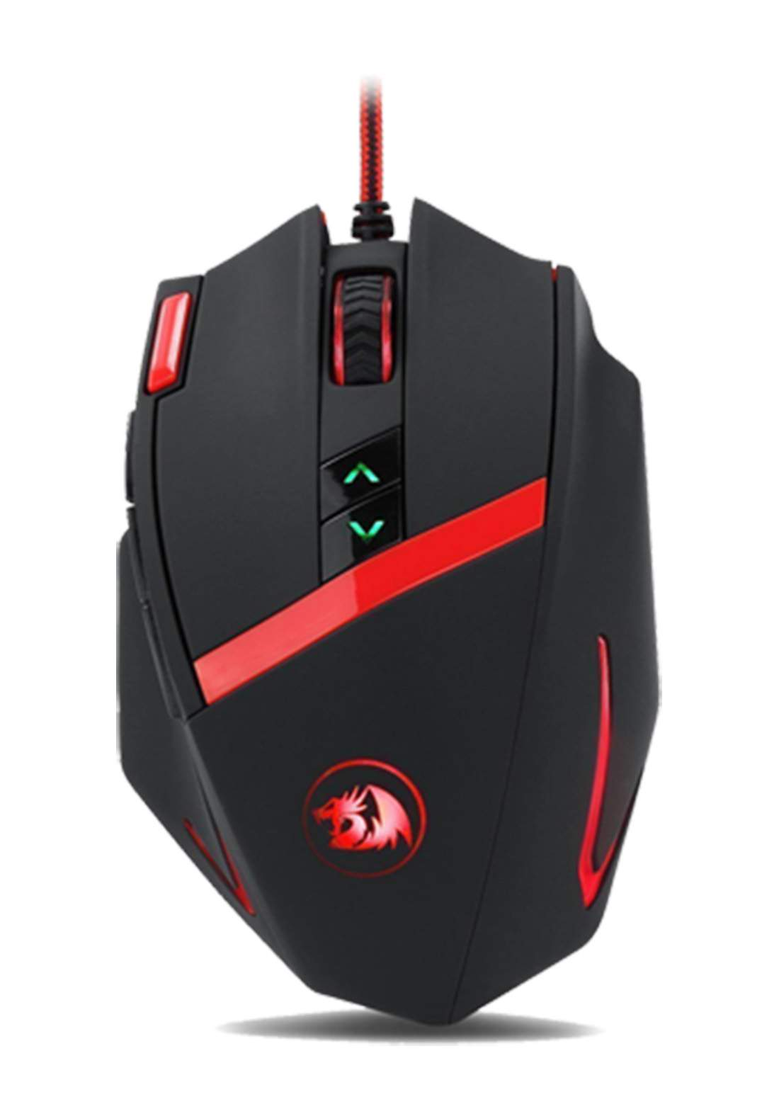 Redragon MAMMOTH M801 Wired Laser Gaming Mouse USB 2.0 - Black فأرة