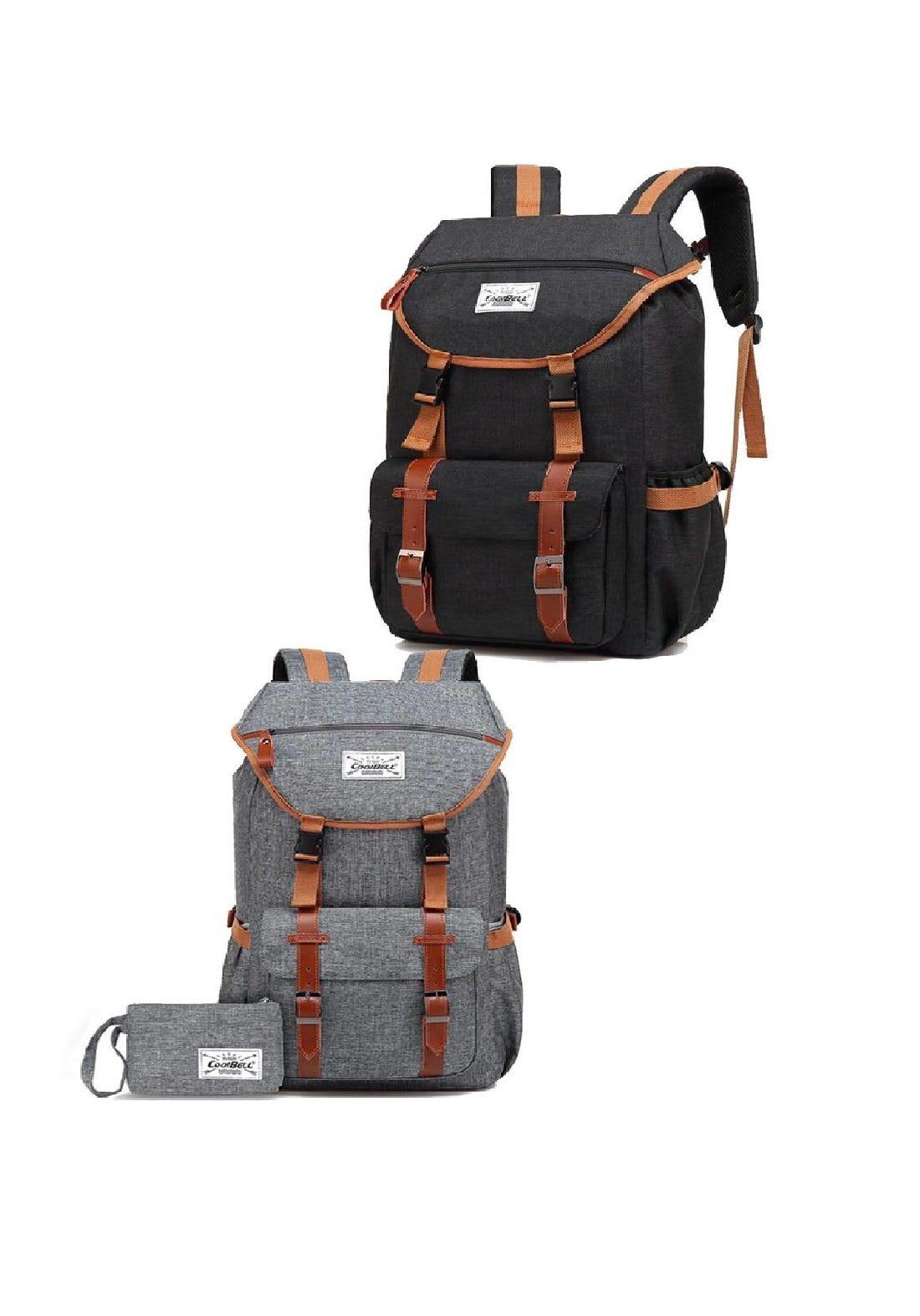 Cool Bell 7006 Branded Backpack Laptop Bag   حقيبة لابتوب