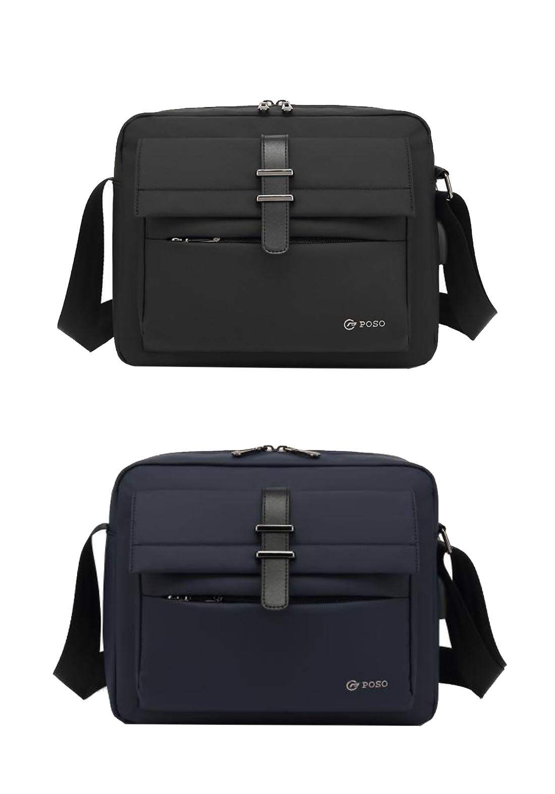Poso PS875 Tablet Bag 10 inch With USB Port حقيبة ايباد