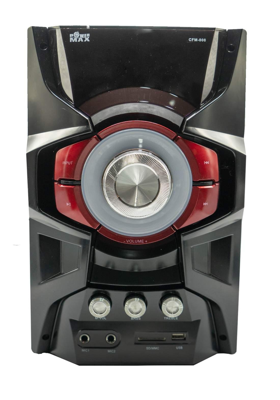 Power Max CFM808 Speaker - Black سبيكر
