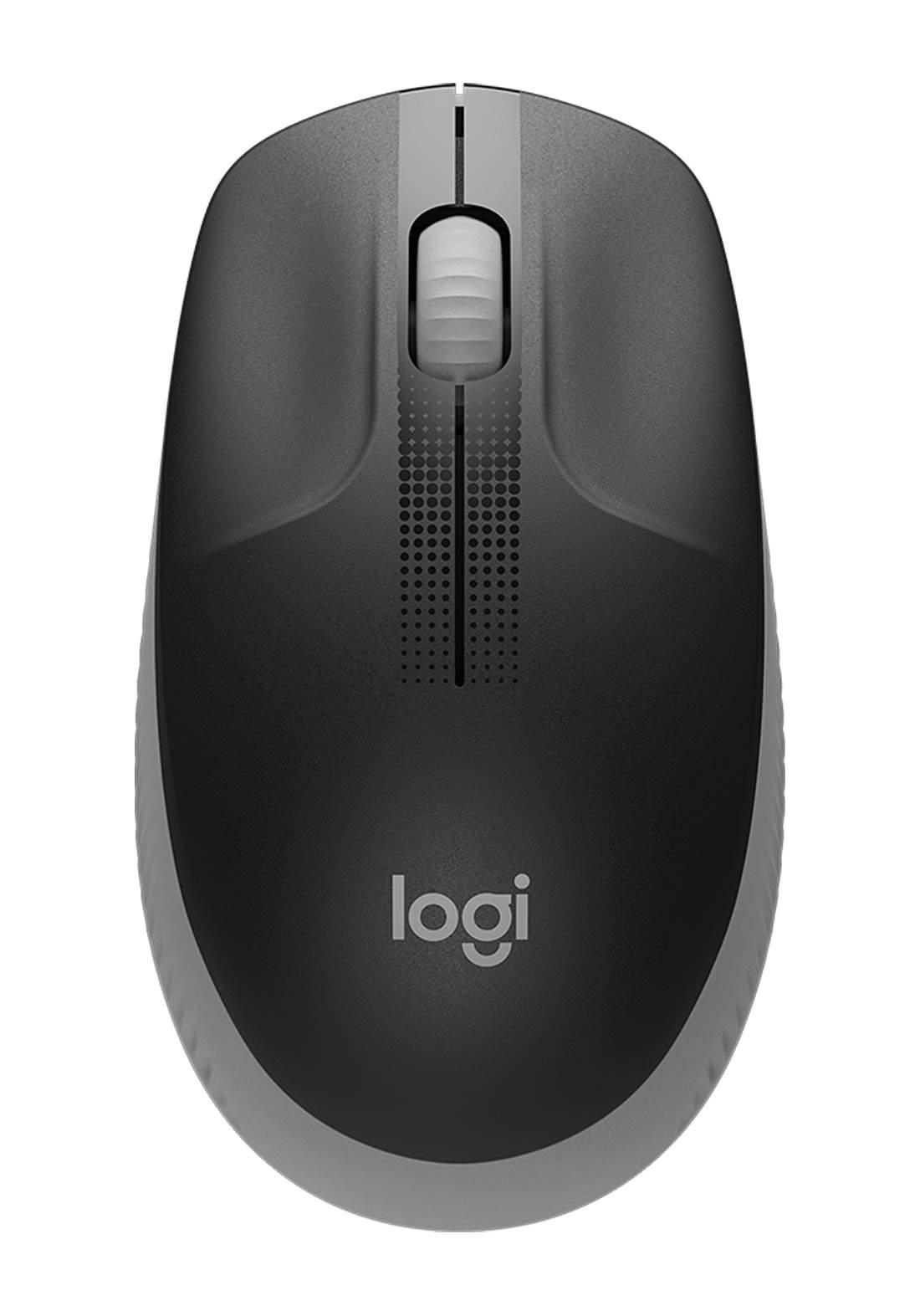 Logitech M190 Wireless Mouse - Gray ماوس