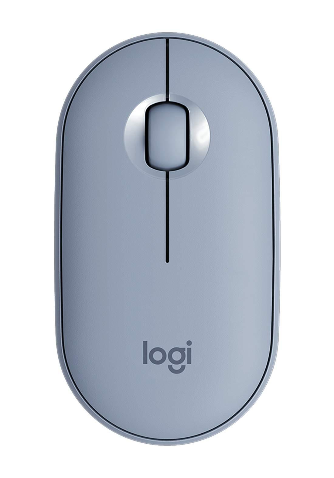 Logitech M350 Wireless Mouse - Blue ماوس