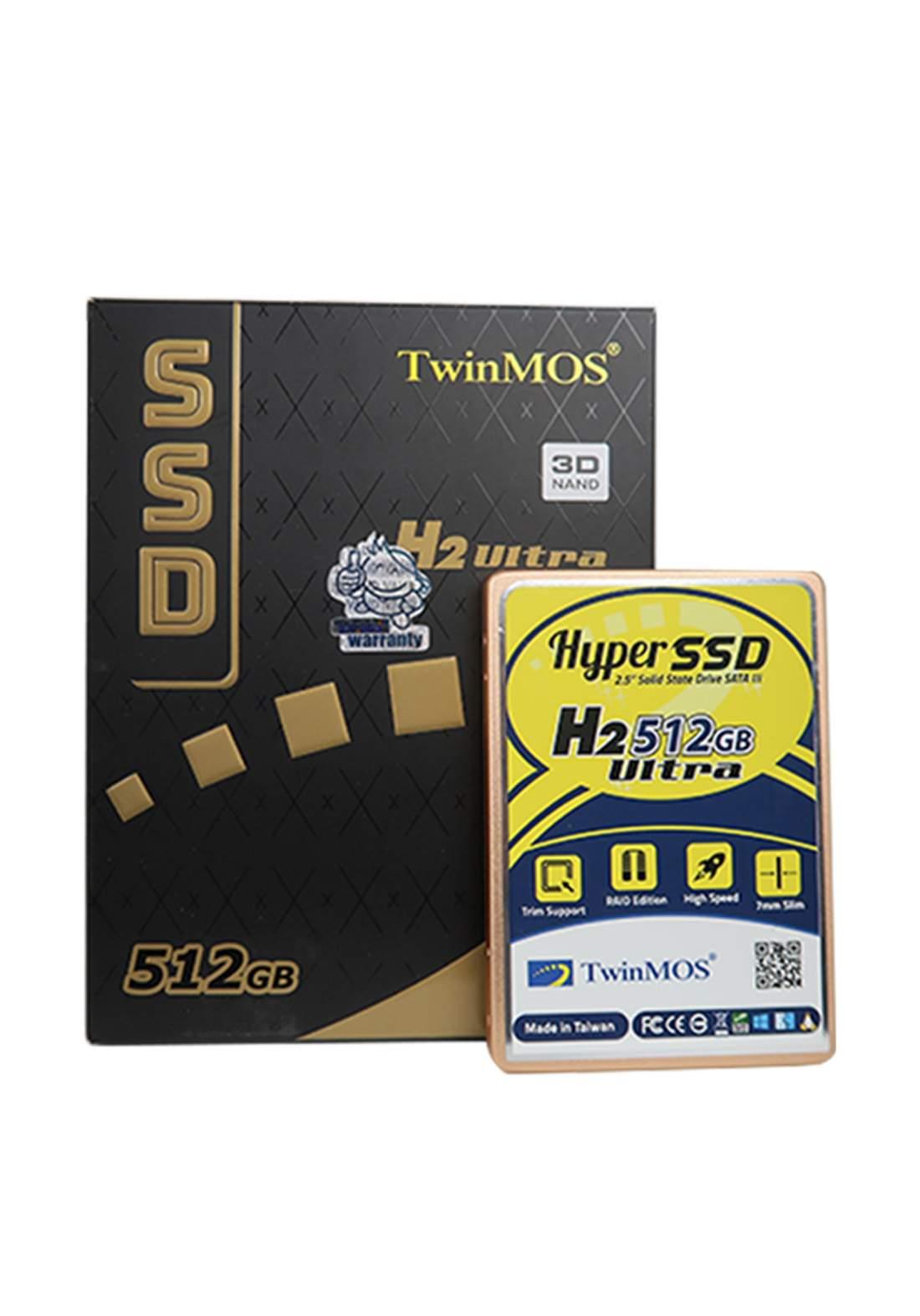 Twinmos H2 Ultra  512 GB Internal Solid State Drive هارد داخلي