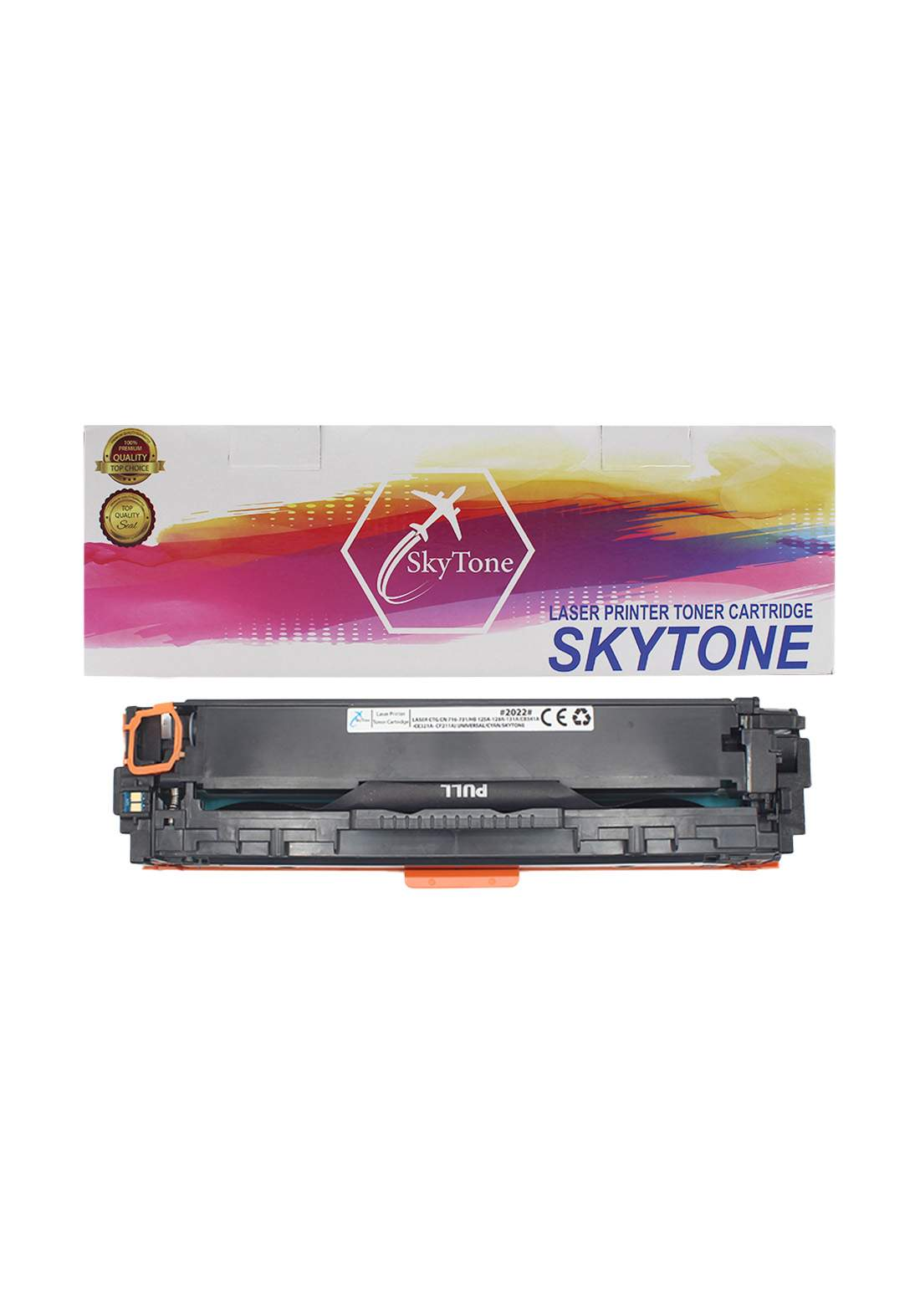 SKYTONE CTG Canon 716-731/HP 125A-128A-131A (CB541A-CE321A- CF211A) Universal Laser Printer Toner Cartridge خرطوشة حبر