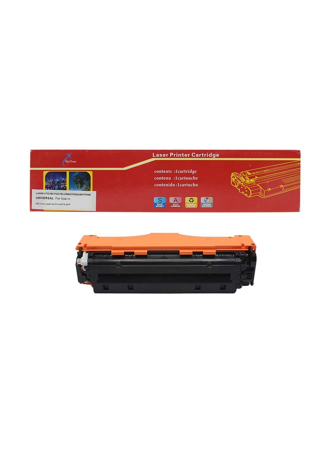 SKYTONE CTG HP 312A (CF382A) Laser Printer Toner Cartridge خرطوشة حبر