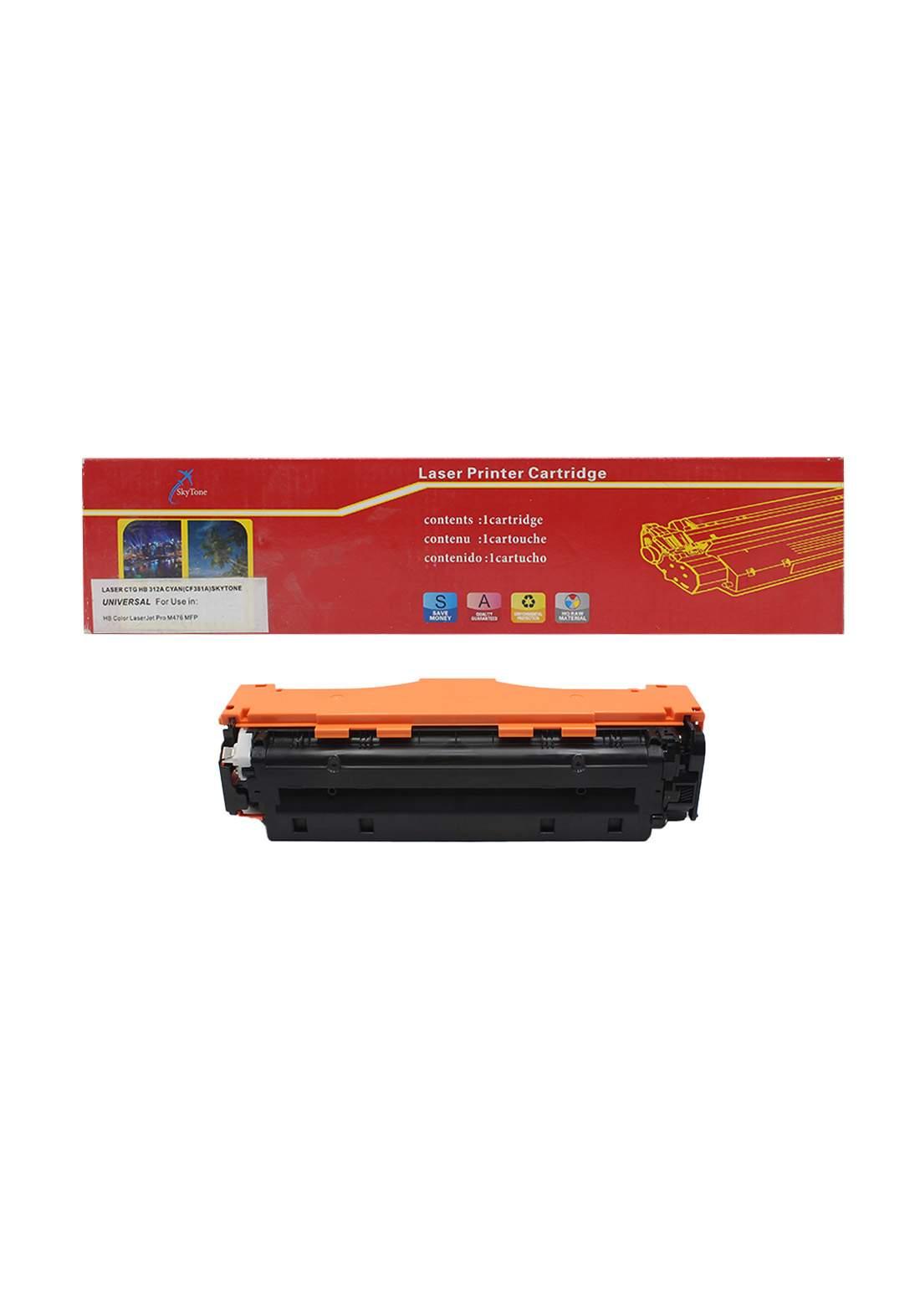 SKYTONE CTG HP 312A (CF381A) Universal Laser Printer Toner Cartridge خرطوشة حبر