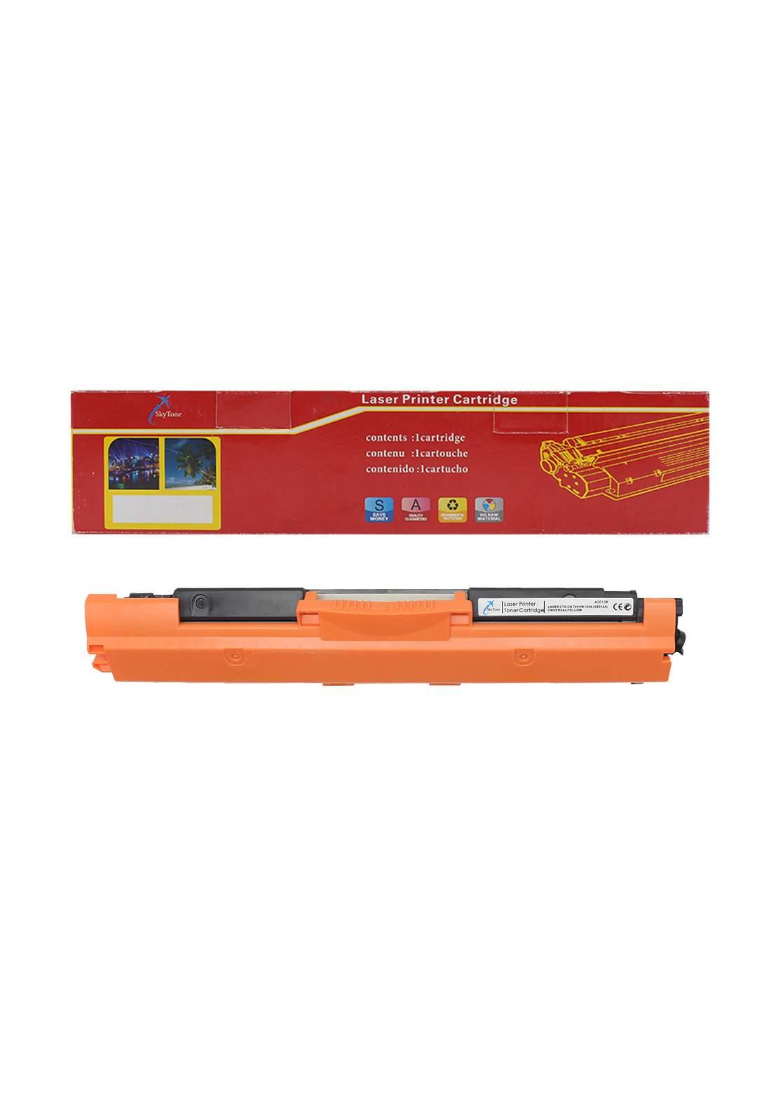 SKYTONE CTG Canon 729/HP 126A (CE312A)/HP 130A (CF352A) Universal Laser Printer Toner Cartridge خرطوشة حبر