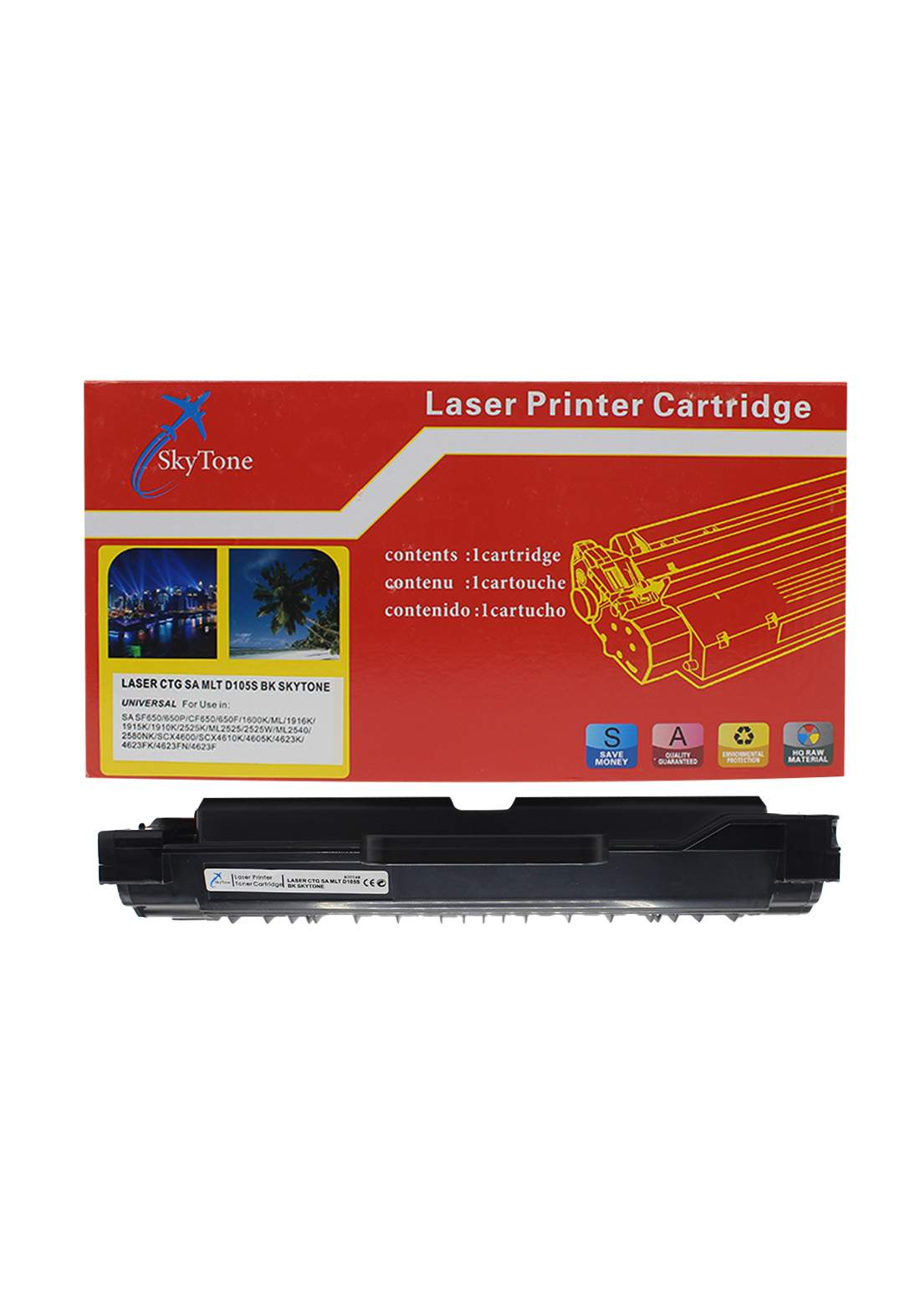 SKYTONE CTG Samsung Mlt D105 Laser Printer Toner Cartridge خرطوشة حبر