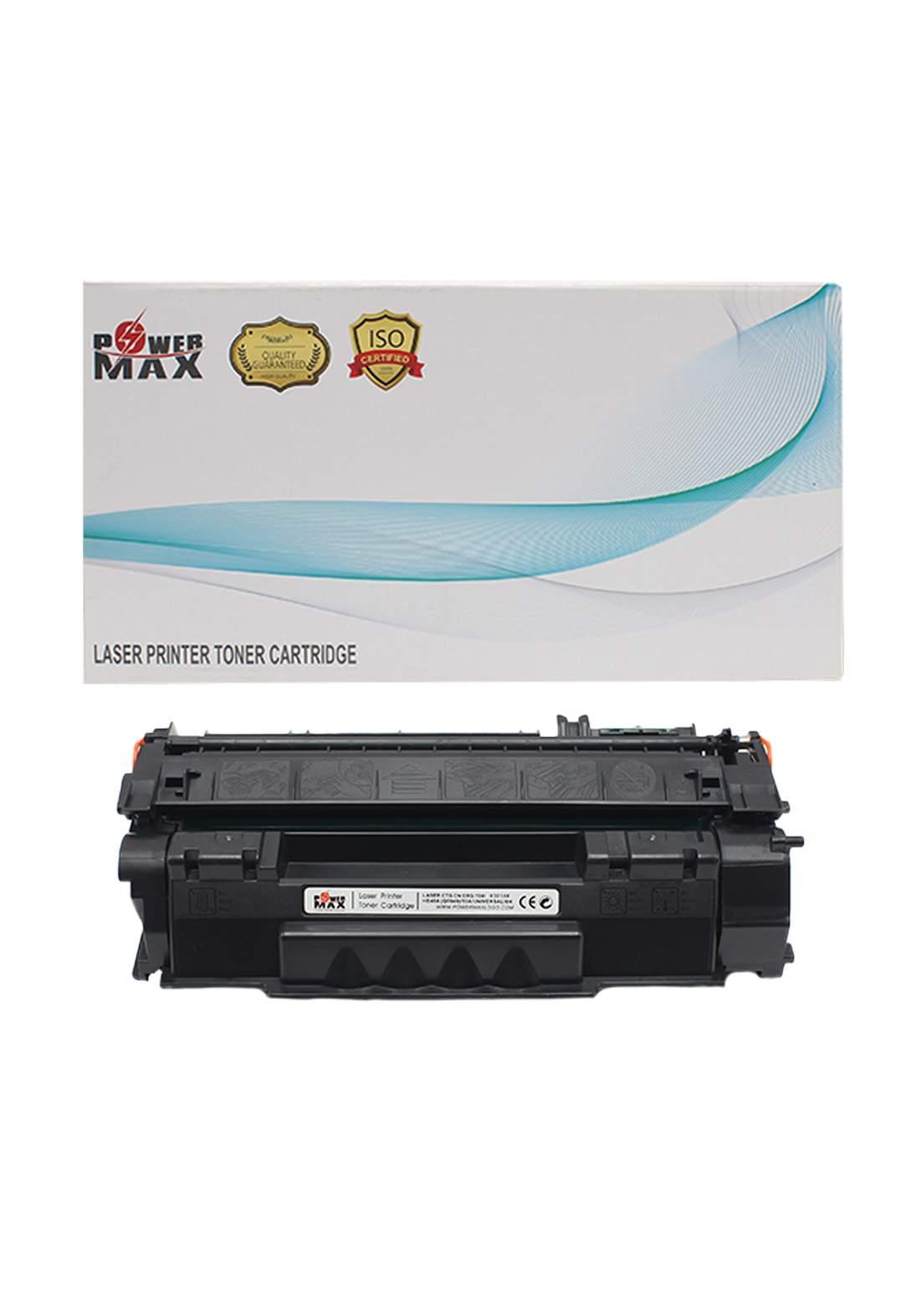 Power Max CTG Canon CRG 708/HP49A (Q5949) /53A Laser Printer Toner Cartridge خرطوشة حبر