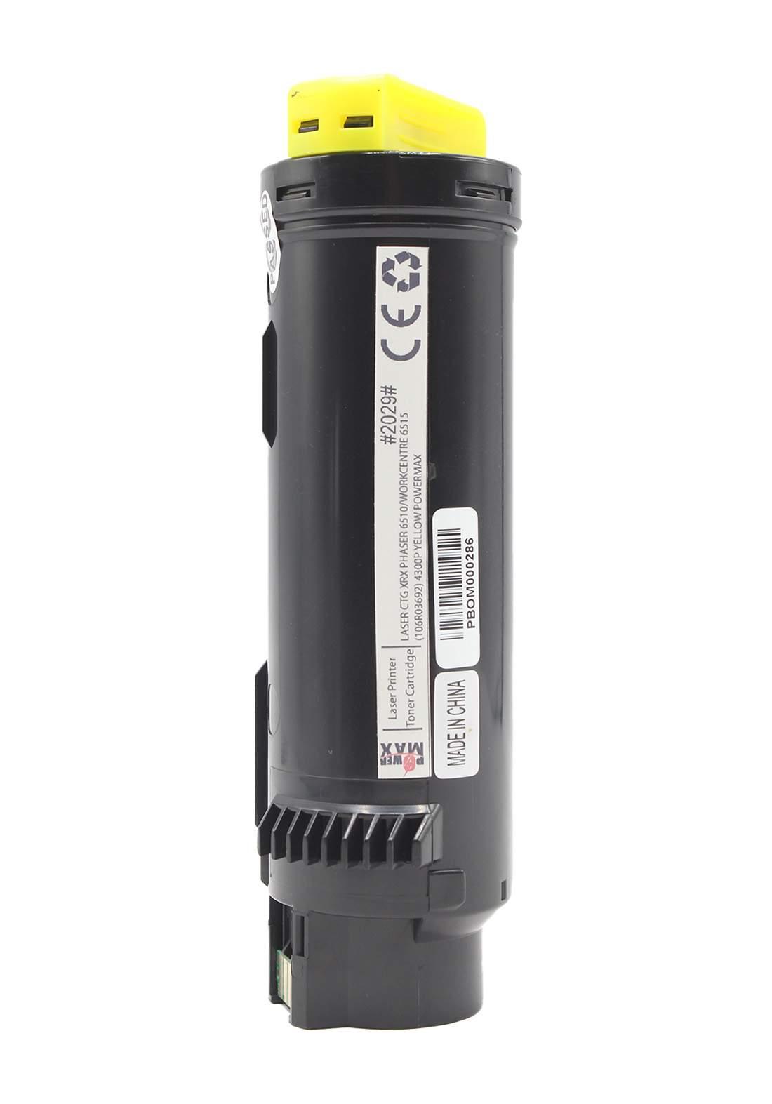 Power Max CTG Xerox Phaser 6510/ Workcentre 6515 (106R03692) 4300P Laser Printer Toner Cartridge خرطوشة حبر