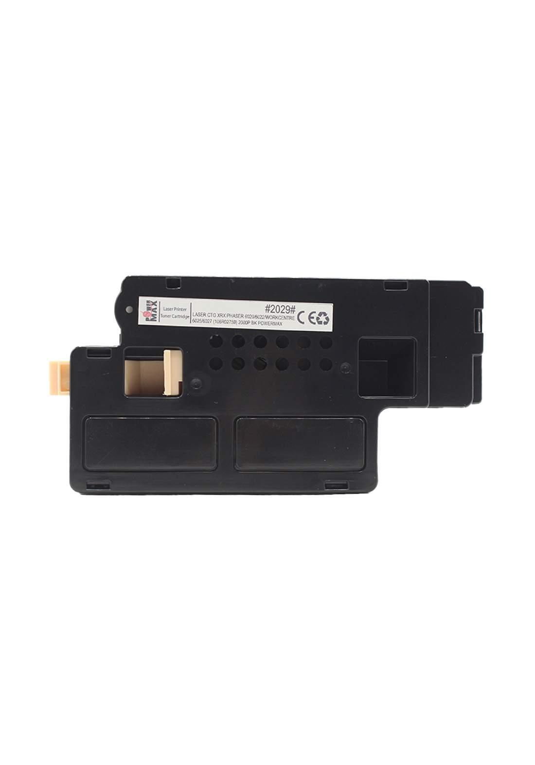 Power Max CTG Xerox Phaser 6020/6022/ Workcenter 6025/6027 (106R02759) 2000P Laser Printer Toner Cartridge خرطوشة حبر