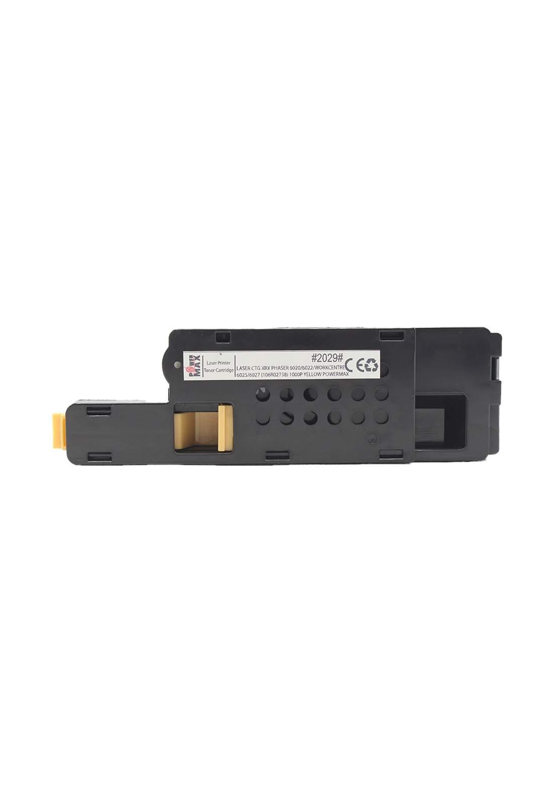 Power Max CTG Xerox Phaser 6020/6022 / Workcentre 6025/6027 (106R02758) 1000P Laser Printer Toner Cartridge خرطوشة حبر