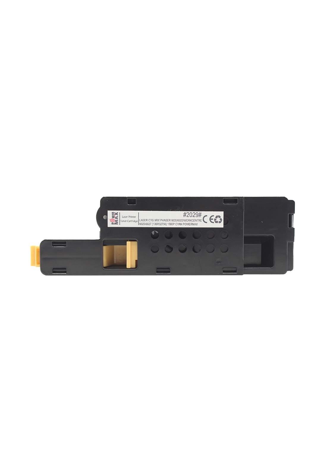 Power Max CTG Xerox Phaser 6020/6022 / Workcentre 6025/6027 (106R02756) 1000P Laser Printer Toner Cartridge خرطوشة حبر