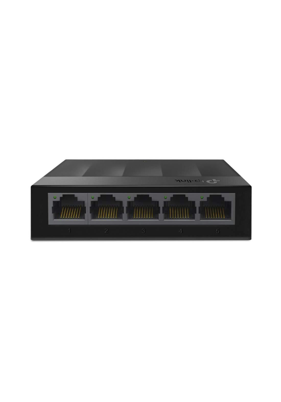 Tp-Link 5-Port 10/100/1000Mbps Desktop Switch - Black