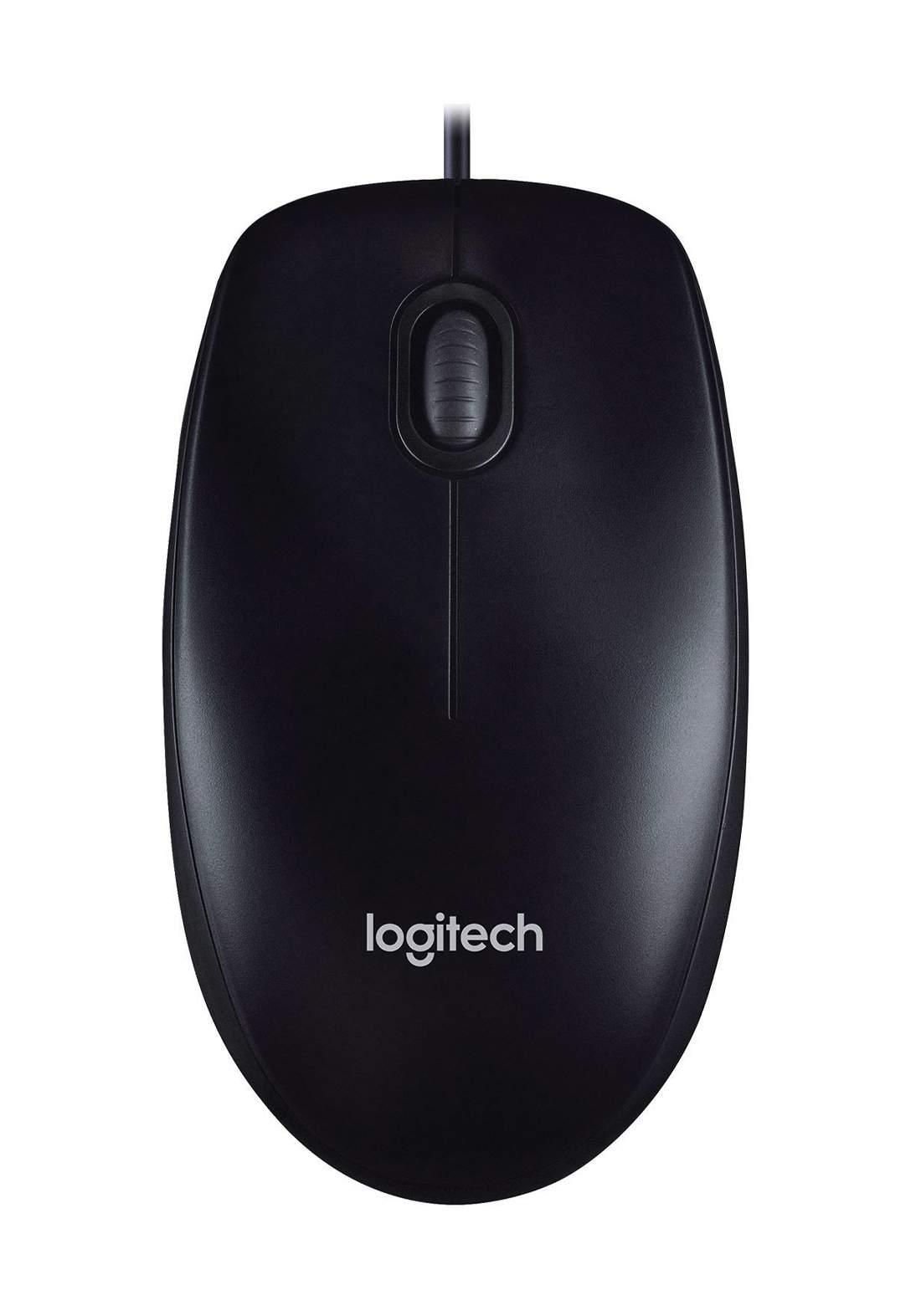 Logitech M90 Wired Mouse فأرة