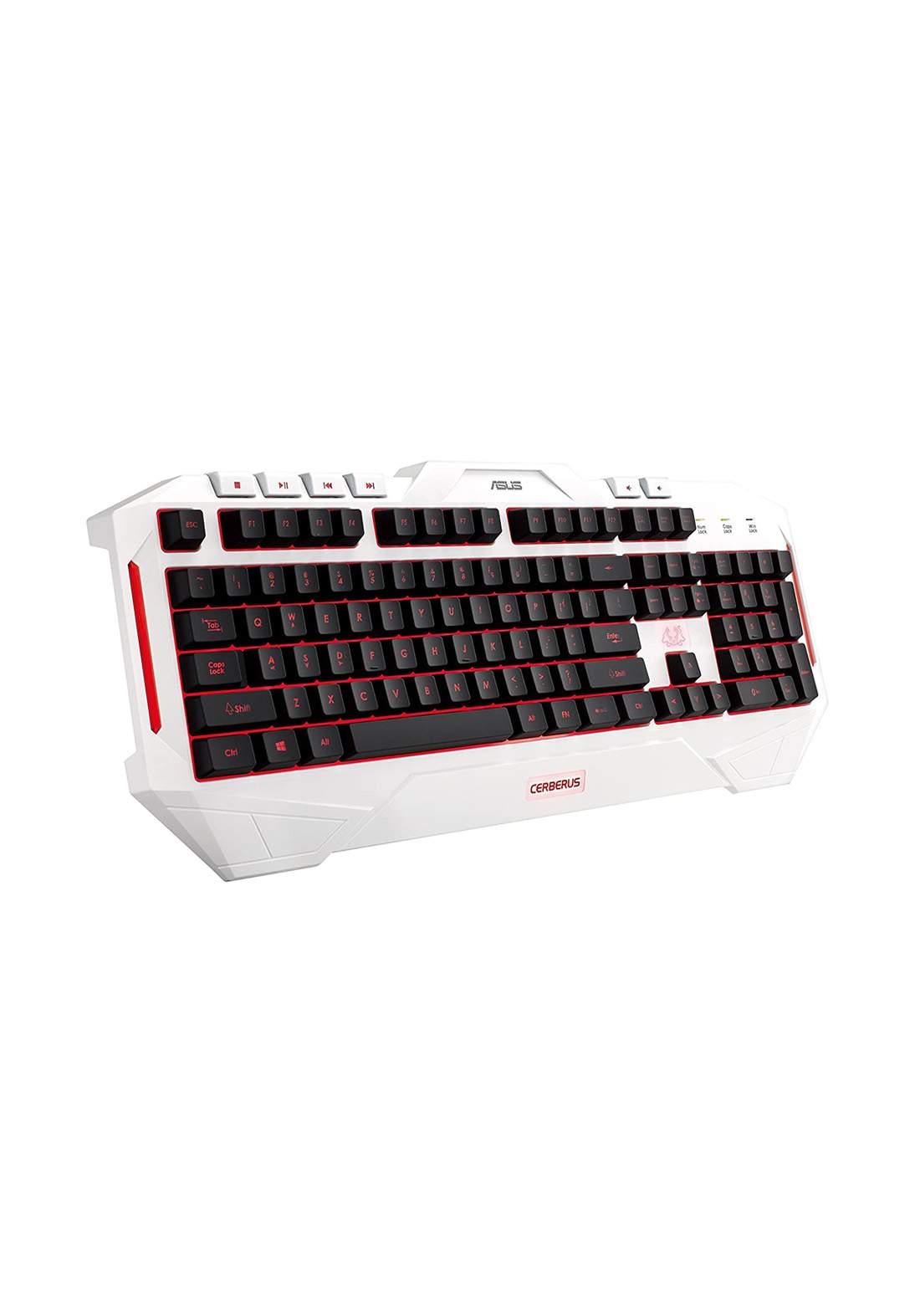 Asus Gaming keyboard Arctic Multi-Color LED كيبورد