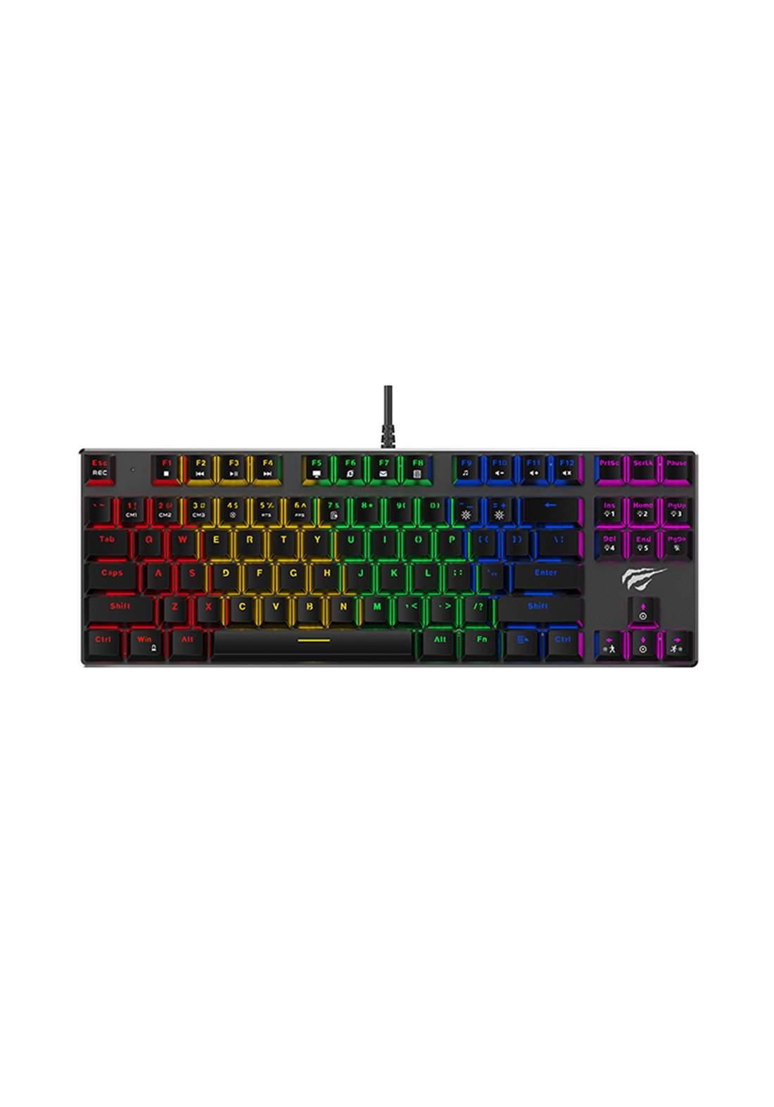 Havit HV-KB435L Gaming Keyboard - Black كيبورد