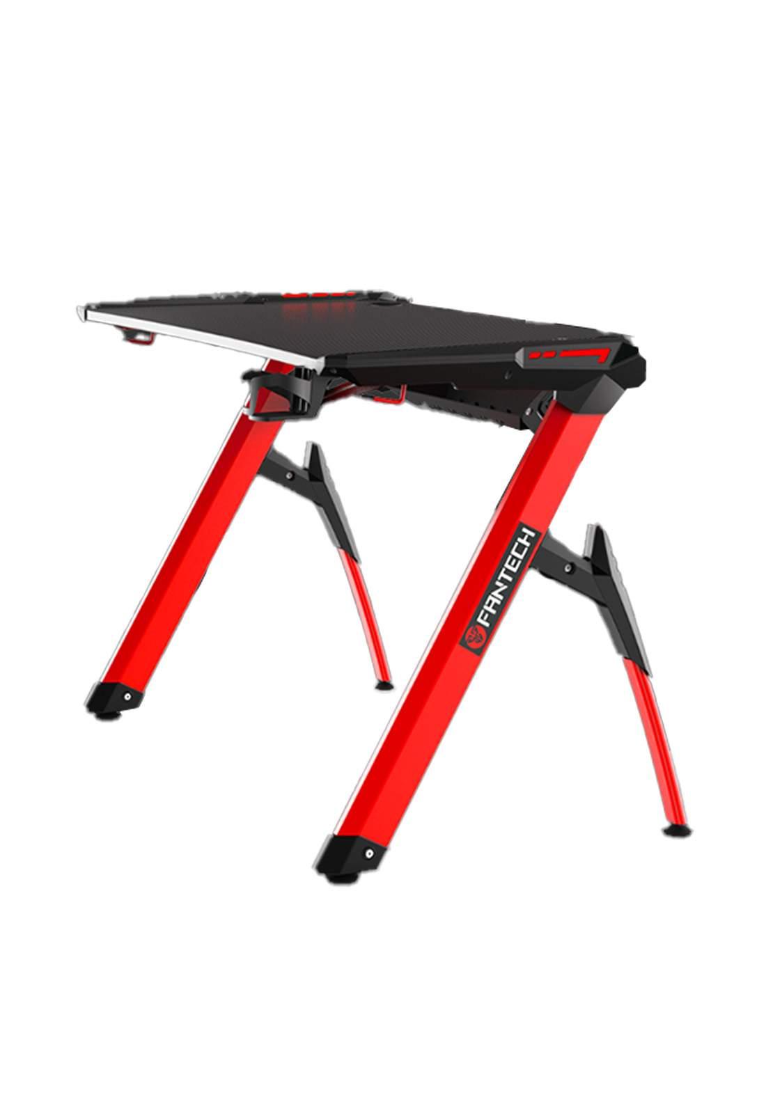 Fantech Beta GD-612 RGB Gaming Desk - Red  منضدة لابتوب