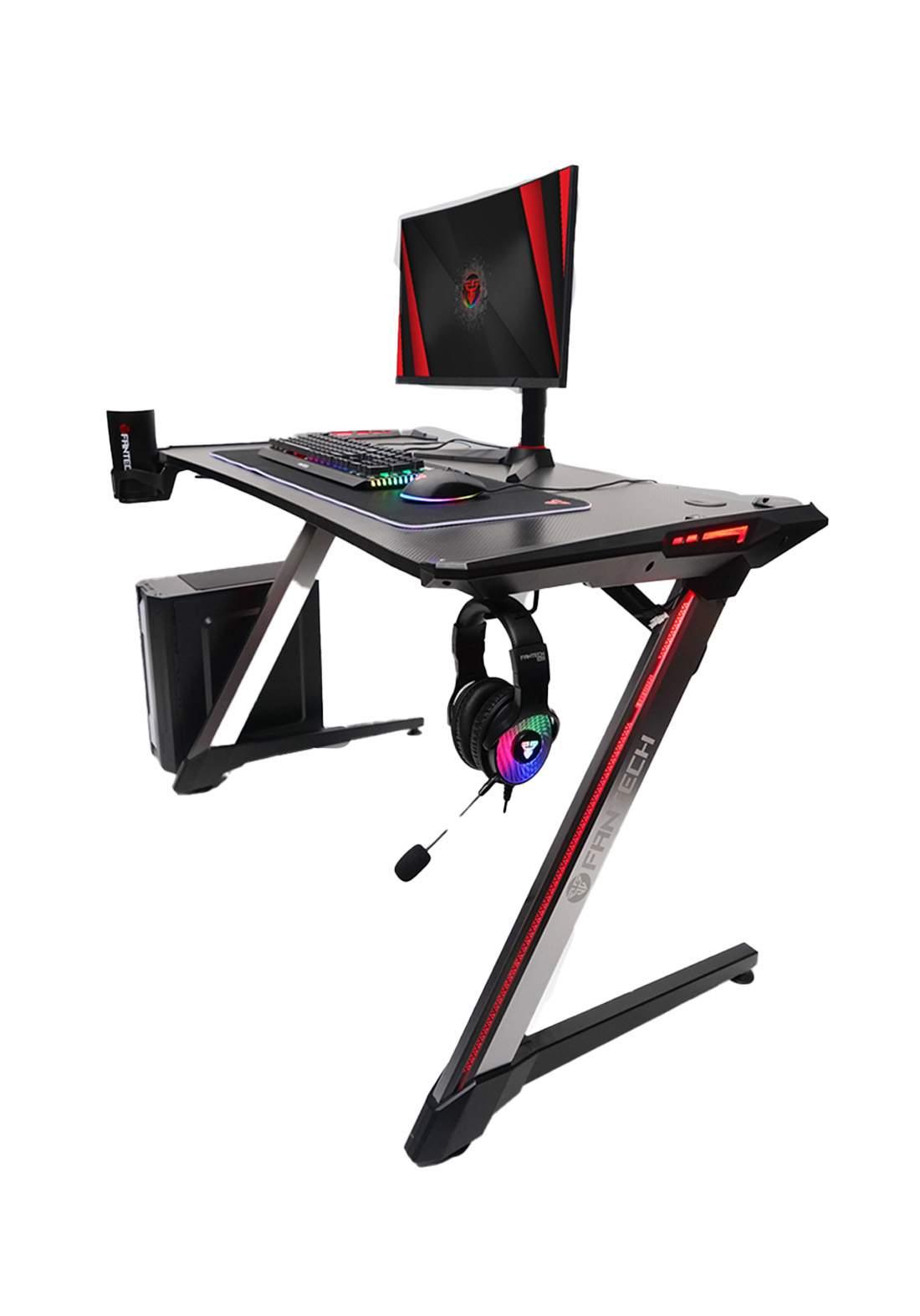 Fantech Beta GD-600 RGB Gaming Desk - Black  منضدة لابتوب