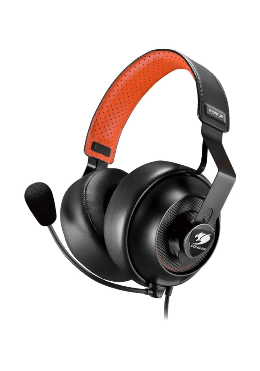 Cougar Phontum S Gaming Headset - Black سماعة سلكية