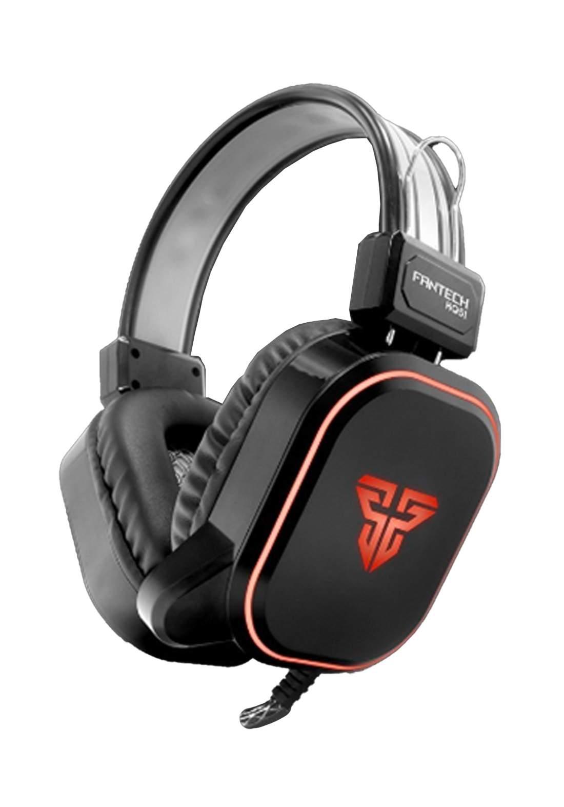 Fantech HQ51 Legion RGB Gaming Headset - Black سماعة